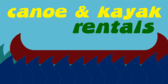 Kayak and Canoe Rentals
