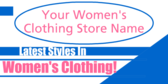womens clothing signs