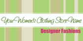 Womens Clothing Designer Fashions
