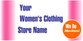 Womens Clothing Alerations