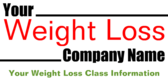 Weight Loss Class Company