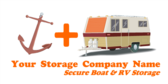 Your Storage Company Name Secure Boat RV Storage