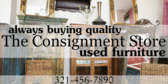 Always buying quality used furniture