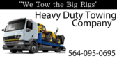 Heavy Duty Towing Available