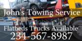 Flatbed Trucks Available
