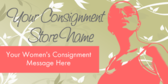 Consignment Store Women's Consignment Message