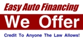 auto loans signs