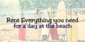 Surf Shop Rentals