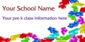 Pre Kindergarten Class Information