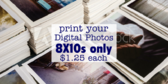 Print and Copy Store Photograph Offer