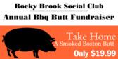 Social Club Annual Bbq Butt Fundraiser