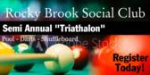 Social Club Semi Annual Triathalon