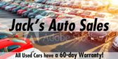 All Used Cars have a 60-day Warranty