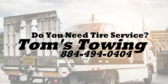 Do You Need Tire Service