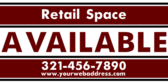 Retail Space Available at Mall