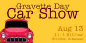 Annual Gravette Day Car Show