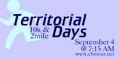 Annual Territorial Days 10K & 2 Mile