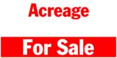 Empty Lot Acreage For Sale