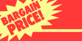 Bargain Price Exclamation