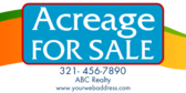 Acreage For Sale Info