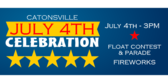 Catonsville July 4th Celebration