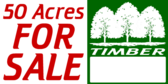 Acres For Sale Timber