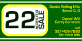 Acres for Sale, Zone C, Zone D