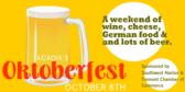 Acadia's Oktoberfest
