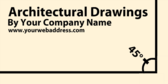 Architectural Drawings By Your Company Name