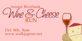 Annual Cheese Wine Run
