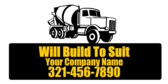 Will Build To Suit Your Company Name