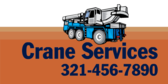 Crane Services Info