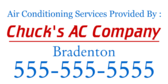 Air Conditioning Services Provided By