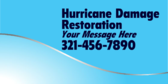Hurricane Damage Restoration Your Message