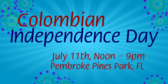 Annual Colombian Independence Day Festival