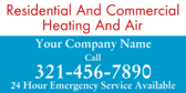 Residential and Commercial Heating and Air