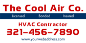 Licensed Bonded Insured HVAC Contractor