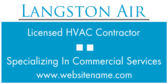 Licensed Commercial HVAC Contractor