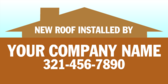 New Roof Installed By Your Company Name
