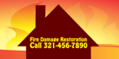 Fire Damage Restoration Call