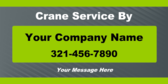 Crane Service By Your Company Name