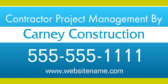 Contractor Project Management By