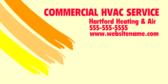 Commercial HVAC Services Contact Information