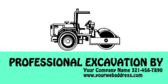 Professional Excavation By Your Company Name