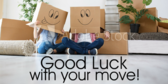 Going Away Banners | Good Luck Moving