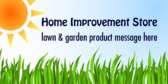 Lawn & Garden Product Message