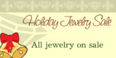 Holiday Jewelry Sale