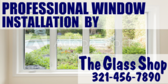 Professional Window Installation By The Glass Shop