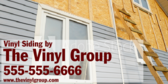 Vinyl Siding Installation By The Vinyl Group