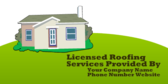 Licensed Roofing Services Provided